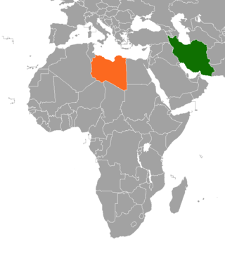 Iran–Libya relations
