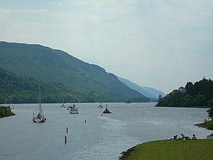 Aberchalder - Image: Loch Oich geograph.org.uk 198612