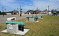 London-Woolwich, Royal Arsenal, James Clavell Square, cannons 02.jpg