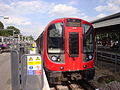London Underground S7 Stock 21311 on District Line, Ealing Broadway (14465850742).jpg