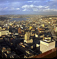 Looking north from downtown Seattle toward Lake Union, 1968.jpg