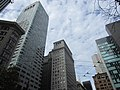 Looking up, intersection of Market, Sansome, Sutter St, San Francisco, 2018.jpg
