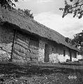 Lopa, štala (hlev) in hiša, Gradišče 1955.jpg