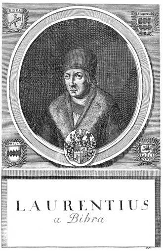 Lorenz von Bibra - Image by Johann Salver