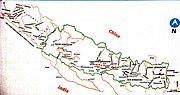 Lost territories of Nepal after Treaty of Sugauli