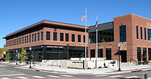 Louisville, Colorado - The Louisville Public Library, built in 2006 (American Institute of Architects Award, 2007)