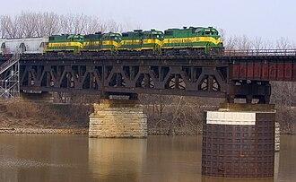 Louisville and Indiana Railroad - Image: Louisville & Indiana Railroad