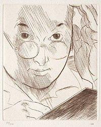 Lous Marcoussis, Selbstporträt, 1936.jpg