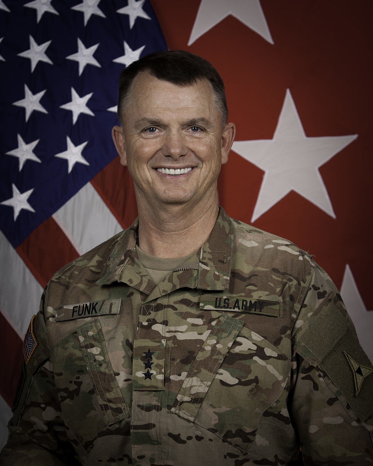 Image result for Lt. Gen. Paul E. Funk II
