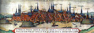 Economic history of Germany - Lübeck, 15th century