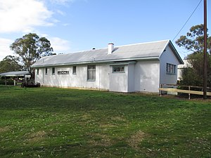 Lucindale, South Australia - Former railway building at the Lucindale museum