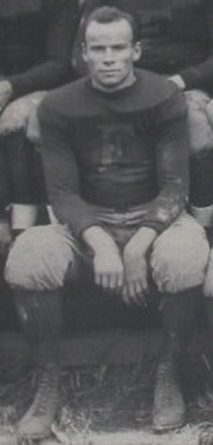 Lud Wray - Wray as a member of the Frankford Athletic Association Yellow Jackets in 1922.