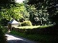Lych gate and churchyard, Moreleigh - geograph.org.uk - 229944.jpg