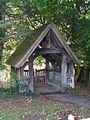 Lych gate at All Saints church, Waldershare - geograph.org.uk - 1610107.jpg