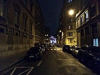 Lyon 6e - Rue Docteur Mouisset de nuit (janv 2019).jpg