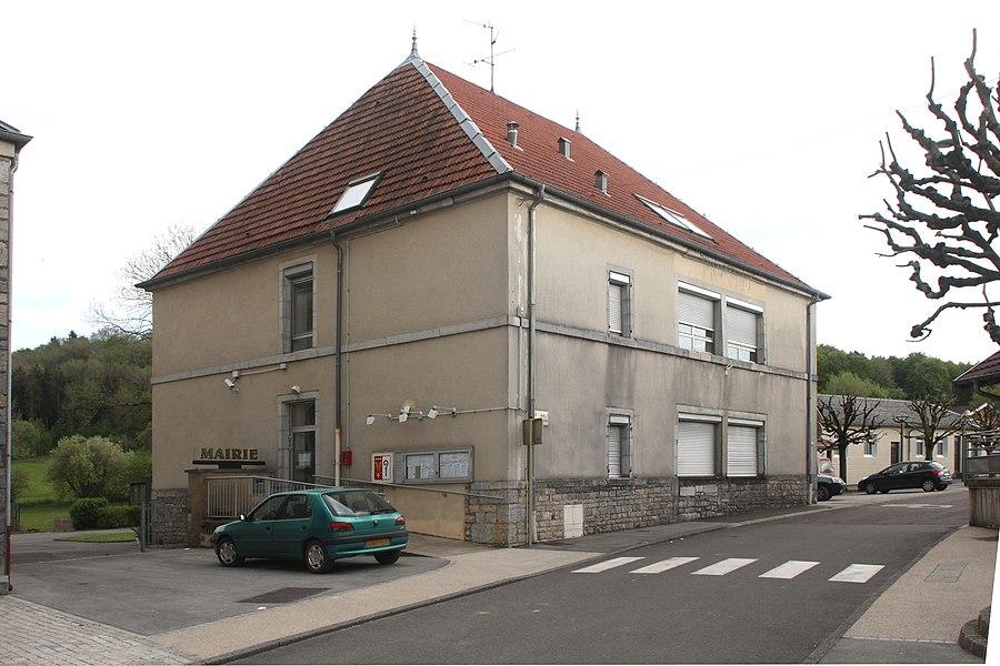 Mairie de Mérey-sous-Montrond (Doubs).