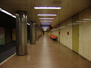 Arany János utca (Budapest Metro) - Image: M3 Arany János utca 1
