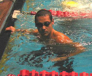Mihail Alexandrov Bulgarian swimmer