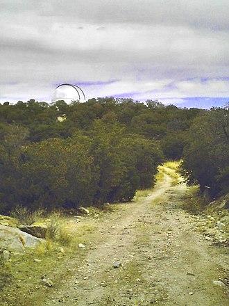 MDM Observatory - Image: MDM Hiltner from Point