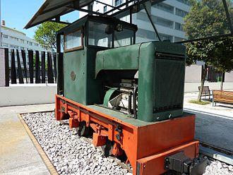 Robert Hudson (company) - Diesel locomotive Hudson Hunslet No 4178 in the Gijón Railway Museum