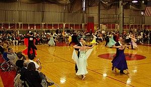 Standard dancing (prechampionship final) at th...