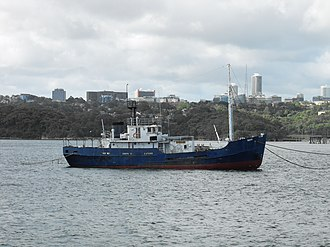 Explorer-class general-purpose vessel - Image: MV Bass at Ballast Point