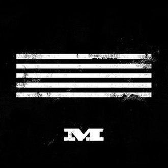 M (Big Bang single album) - Image: M cover Bigbang