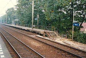 Maarn railway station - Image: Maarn 2