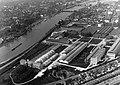 Maastricht-Wyck, luchtfoto Céramiqueterrein, 1974.jpg