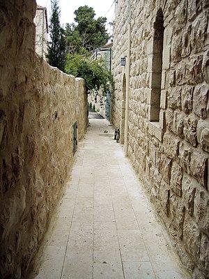 Mahane Israel - An alley in Mahane Israel.