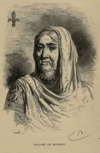 Bourbons of India - Madame Elizabeth de Bourbon in May 1867