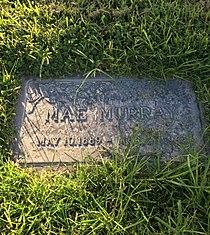 Mae Murray Grave.JPG