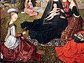 Maestro del fogliame ricamato, virgo inter virgines, 1480-1500 ca. 03.jpg