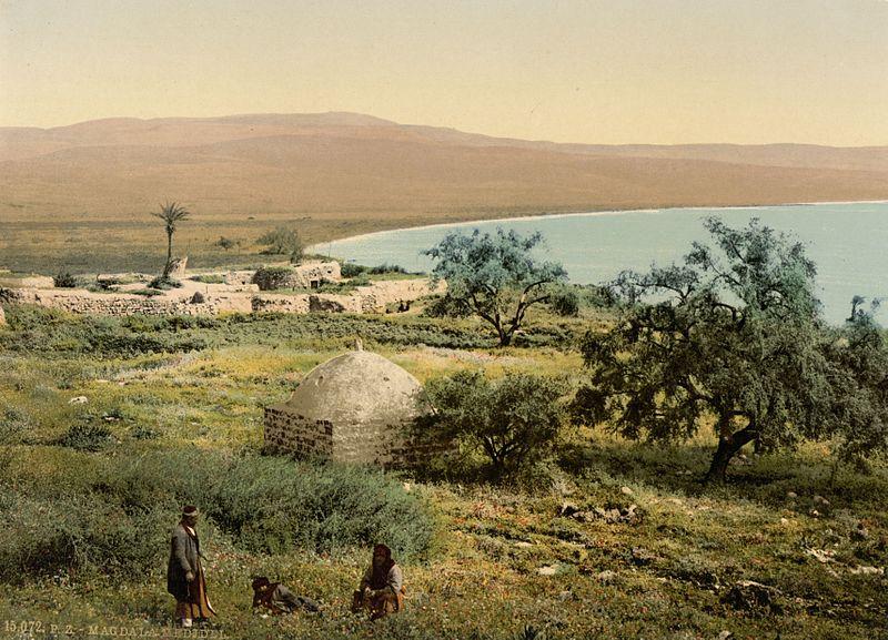 File:Magdala um 1900.jpg