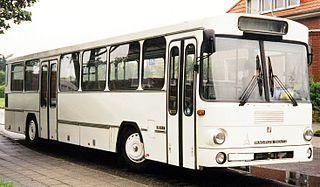 Rigid bus Bus used for public transport with a single, rigid chassis