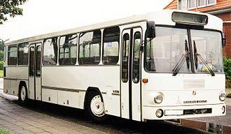 Rigid bus - A Magirus-Deutz L117 rigid bus,   also a VöV SL-I type standard bus