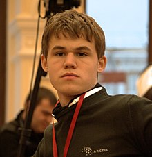 Carlsen at the World Blitz Championship 2009