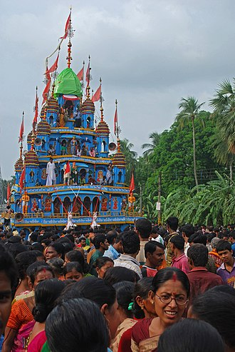 Mahishadal Rathayatra - Mahishadal Rathayatra in 2012