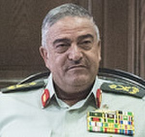 Chairman of the Joint Chiefs of Staff of the Jordanian Armed Forces - Image: Mahmoud Freihat portrait