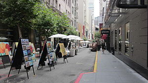 Maiden Lane (San Francisco) - A section of Maiden Lane