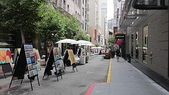 Maiden Lane (San Francisco) - A section of Maiden Lane