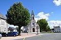 Maillet (Indre) - Place de l'église.JPG