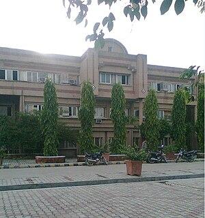 Babasaheb Bhimrao Ambedkar University - Image: Main Building BBAU