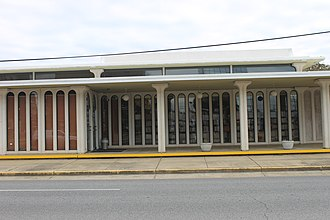 Rapides Parish, Louisiana - The main branch of the Rapides Parish Library is located in downtown Alexandria.