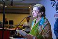 Maina Bhagat - Inaugural Address - Apeejay Bangla Sahitya Utsav - Kolkata 2015-10-10 4873.JPG