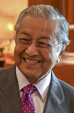 Malaysian Prime Minister Mahathir Mohamad (42910851015) (cropped).jpg
