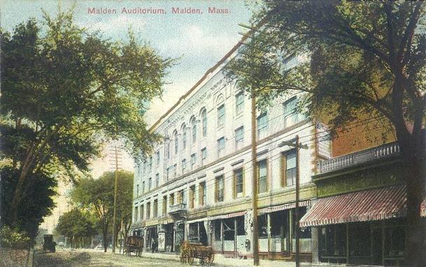 Malden Auditorium, Malden, MA