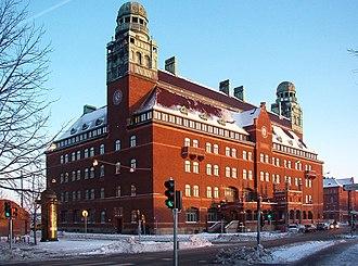 Ferdinand Boberg - Central Post Office building in Malmö