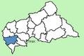 Mambéré-Kadéï Prefecture Central African Republic locator.png