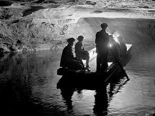 Il parco nazionale di Mammoth Cave nei primi anni del 1900